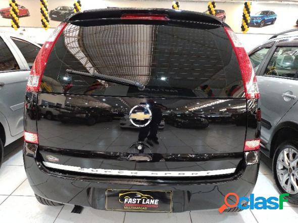Chevrolet meriva premium 1.8 mpfi 8v flexpower preto 2008 1.8 flex