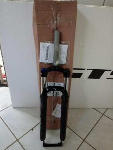 Amortecedor suspensão bike mtb aro 29 c/ trava e pré-load