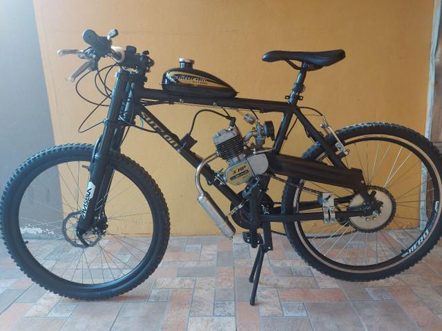 Bicicleta motorizada motor 2t 80 cilindradas