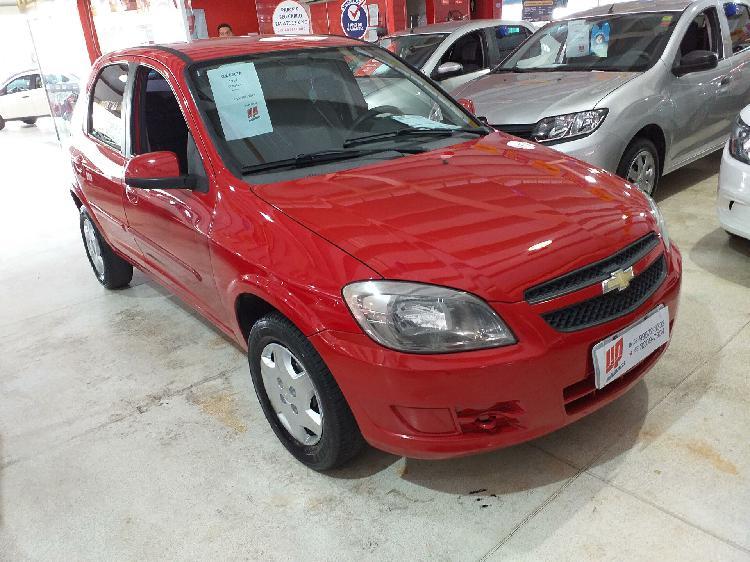 Chevrolet celta 1.0 lt 8v vermelho 2011/2012 - aparecida de