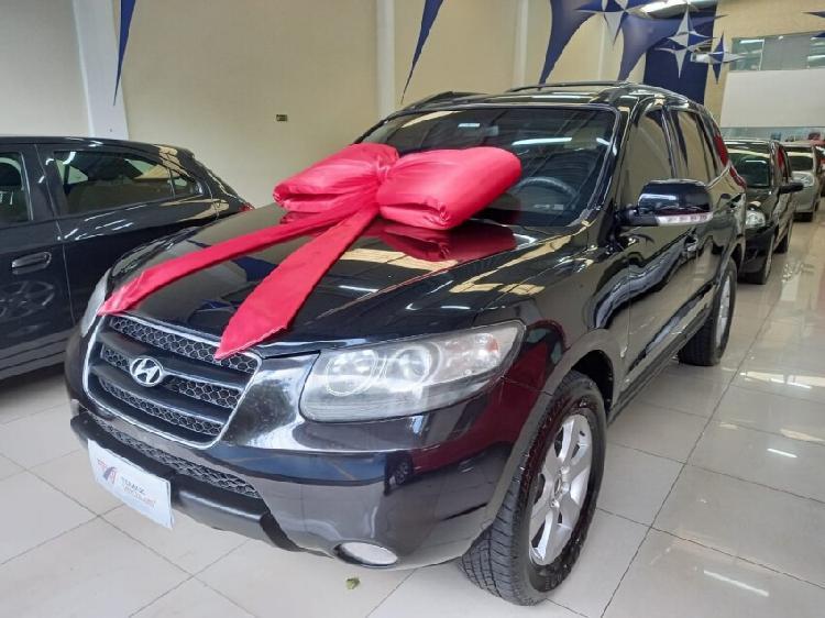Hyundai santa fé 2.7 gls v6 preto 2009/2010 - campinas