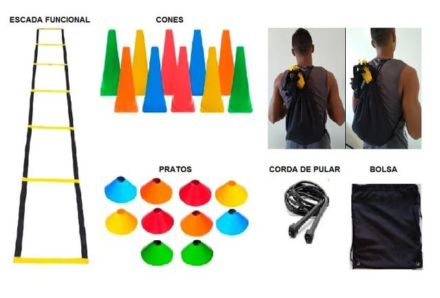 Kit p/ treinamento funcional