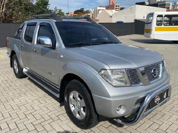 Nissan frontier 2.5 le prata 2010/2011 - curitiba 1504708