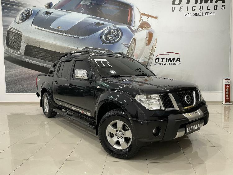 Nissan frontier 2.5 se preto 2011/2011 - são paulo 1499895