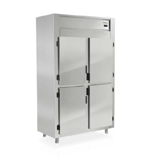 Refrigerador inox 4 portas