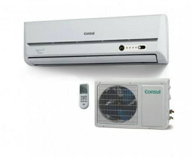 2 ar condicionados split consul 9000 btus
