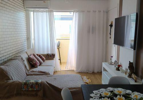 Lindo apartamento, semi mobiliado, bairro boa vista,