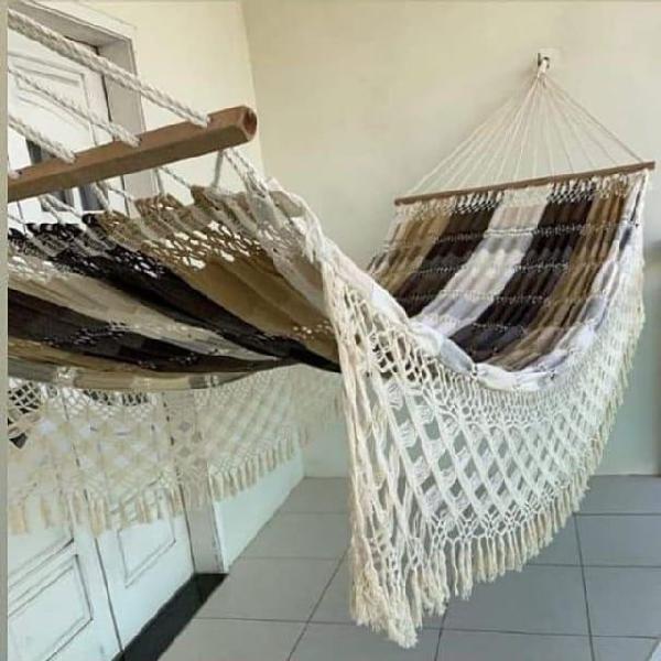 Rede sofa,incluso madeira,entrega grátis fortaleza