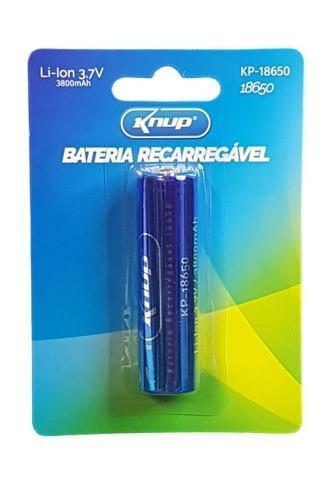 7249 - bateria recarregável lanterna tática 3.7v 3800mah -