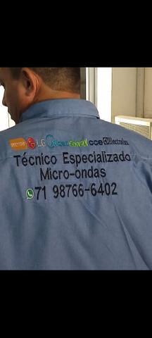 Assistência técnica especializada em micro-ondas