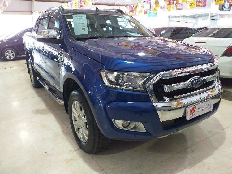 Ford Ranger 3.2 Limited 20V Azul 2016/2017 - Aparecida de