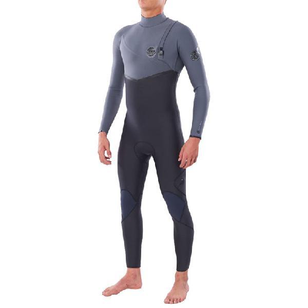 Long john rip curl flashbomb e6 3/2 zip free grey - surf