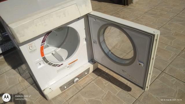 Máquina de secar roupas brastemp active usada mas em bom