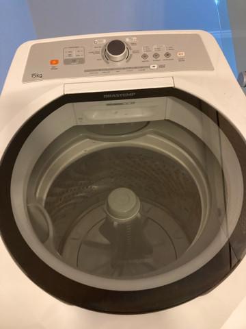 Máquina lavar brastemp 15 kg e secadora