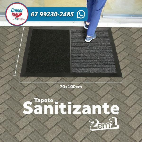 Tapete sanitizante e pisos especiais