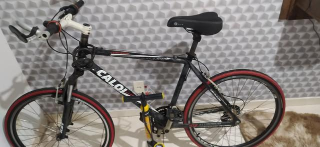 Bicicleta caloi aluminum performance revisada + bomba de ar