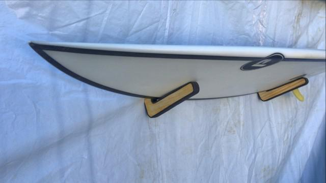Suporte rack parede prancha surf, longboard, bodyboard