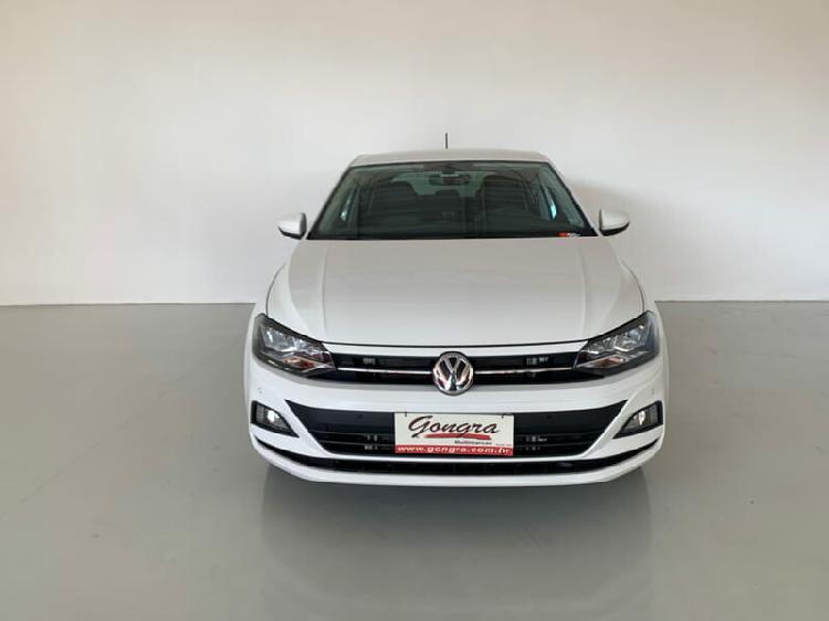 Volkswagen polo hatch 1.0 200 tsi highline branco 2019/2020