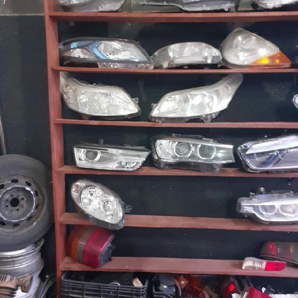 Farois lanternas retrovisores lentes de farois nacionais e