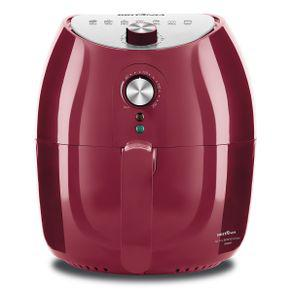 Fritadeira air fry britânia bfr10vi inox vermelha 3,5l -