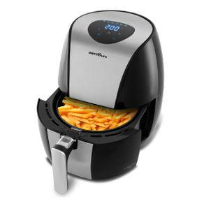 Fritadeira air fry britânia digital inox bfr20pi 1500w -