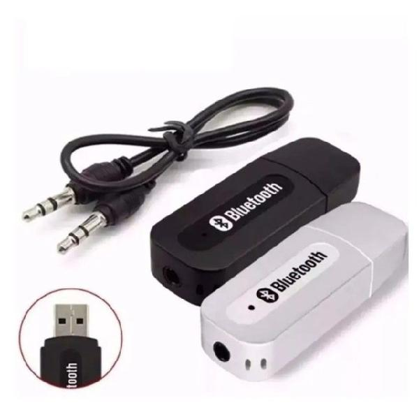 Receptor bluetooth usb p2 áudio músicas som carro