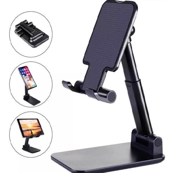 Suporte metal de mesa p/ ipad iphone /celular androide/