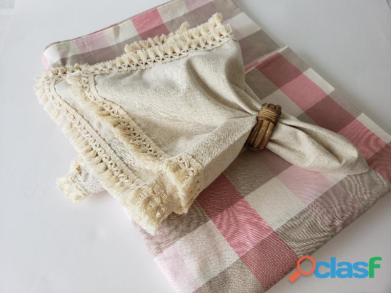 Toalha xadrez rosa. toalha piquenique . @lafavelle