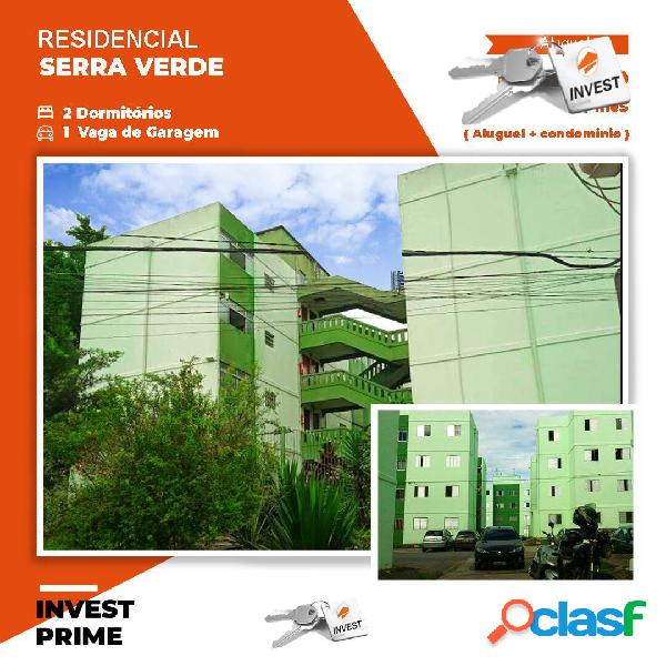 Apartamento para locação (serra verde)