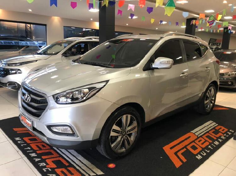 Hyundai ix35 2.0 16v prata 2016/2017 - curitiba 1517996