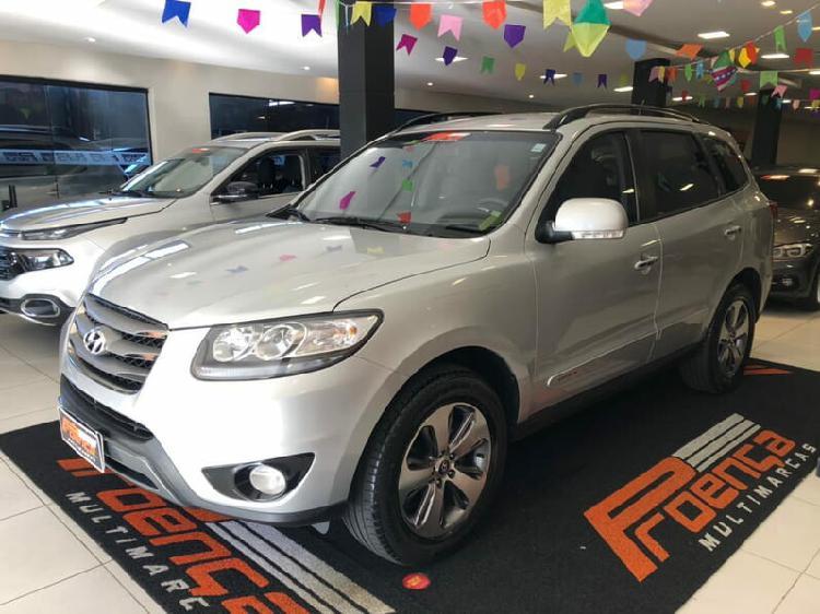 Hyundai santa fé 3.5 gls v6 prata 2012/2013 - curitiba