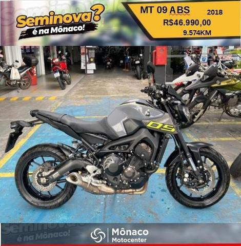 Mt 09 abs / 2018
