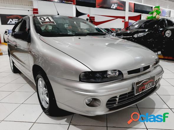 Fiat brava sx 1.6 16v 4p cinza 2001 1.6 gasolina