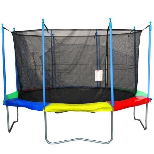 Promoção) pula pula cama elástica reforçado em até