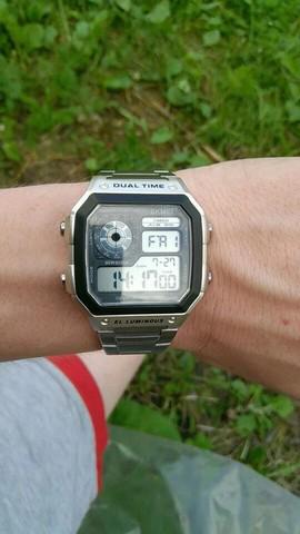 Relógio skmei estilo vintage