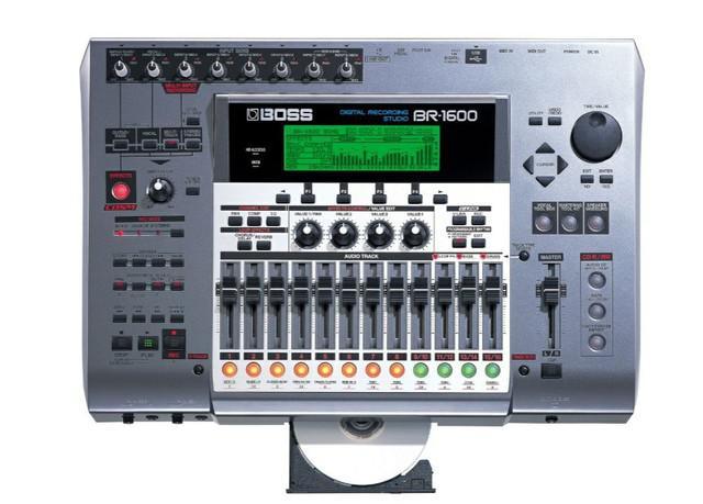 Boss roland br-1600 br1600cd digital recording studio