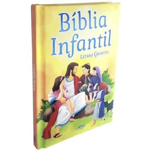 Biblia infantil letra grande