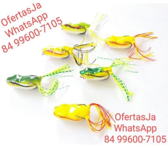 Isca artificial sapo frog meia agua 1010 (5 cm) & (11 g)