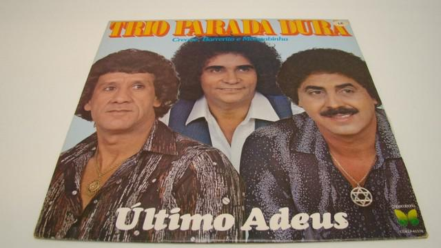 Lp vinil - trio parada dura - último adeus / ano: 1981 - 12
