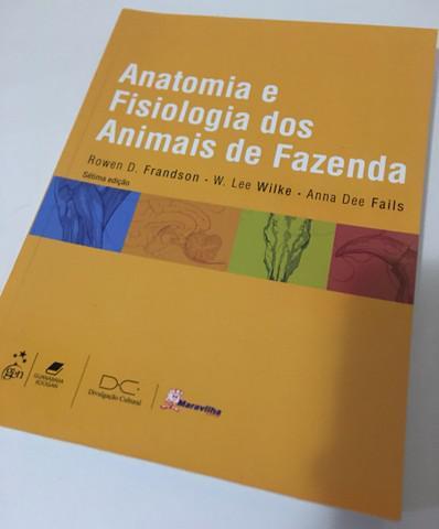 Livro: anatomia e fisiologia dos animais de fazenda