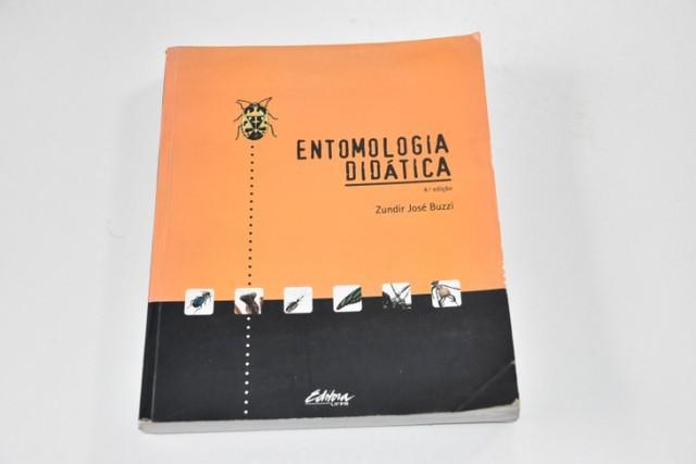 Livro entomologia didática - 4a edição - em bom estado