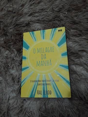 Livro milagre da manhã