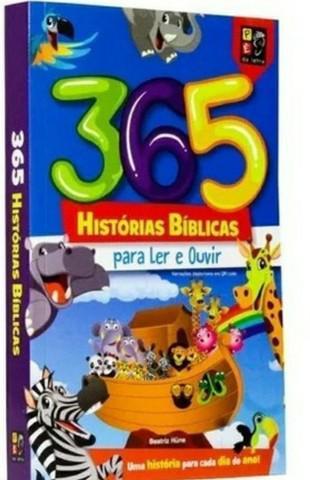 Livro 365 histórias bíblicas educativa - pé da letra