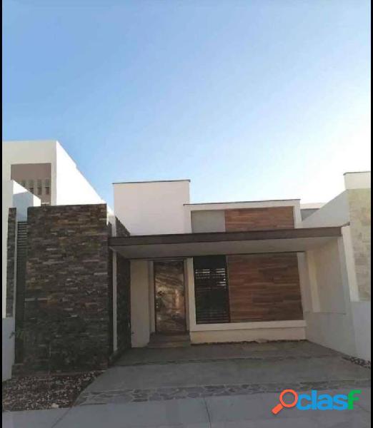 En venta casas nuevas de una planta en zona norte v. a. colima