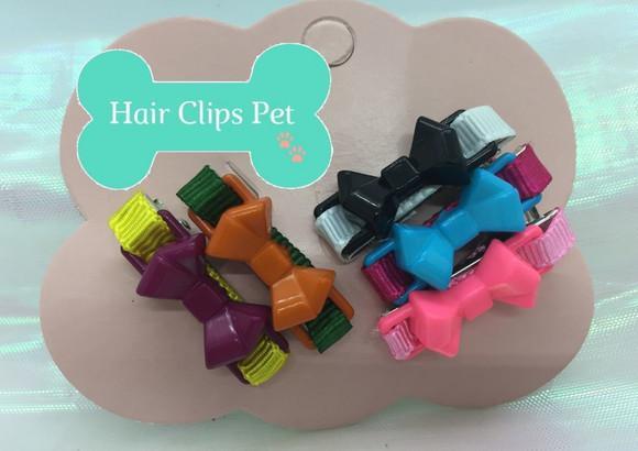 Hair clips pet 5 unidades