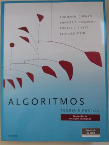 Livro algoritmos: teoria e prática