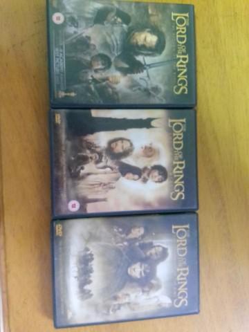 Vendo coleção de filmes