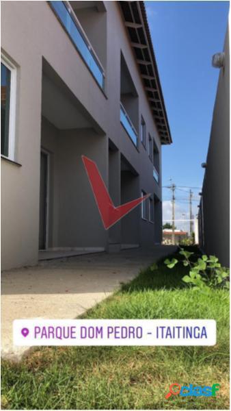 Parque dom pedro - apartamento com 2 dorms em itaitinga - itaitinga por 133 mil à venda