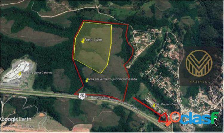 Terreno com 2000000 m2 em araçariguama - são roque por 110,00 à venda