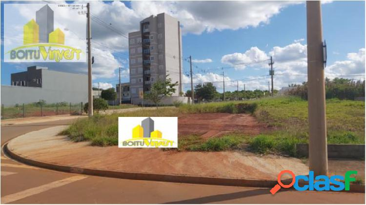 Terreno com 269 m2 em boituva - portal ville azaleia por 142.000,00 à venda